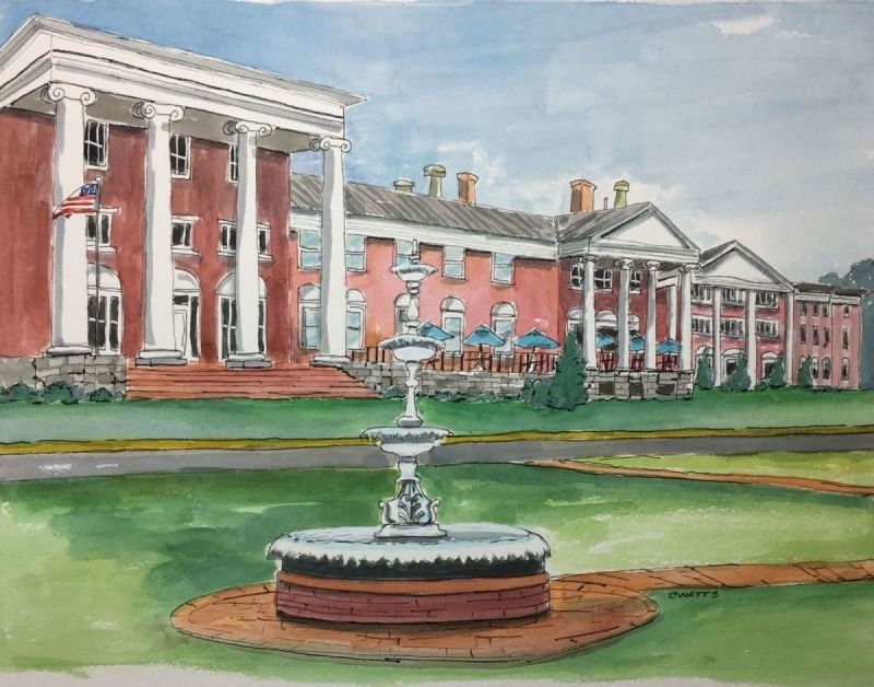 The Blackburn Inn, Staunton, VA - Commission/SOLD