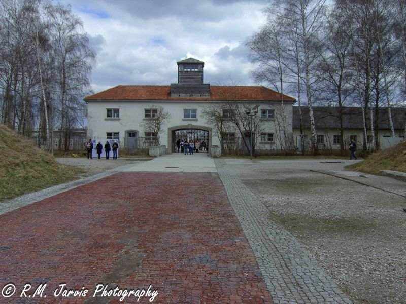 Entrance to Dachau