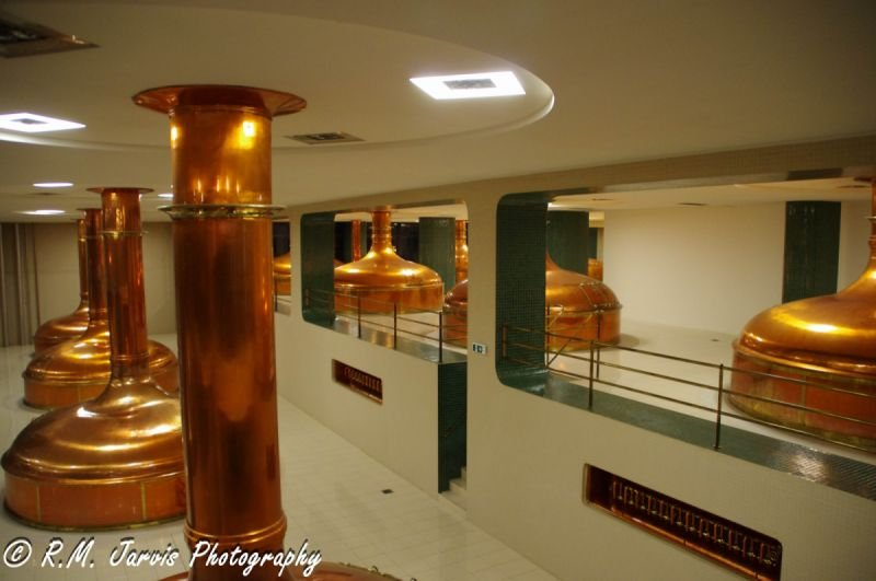 Pilsner Urquell Copper Brewing Tanks