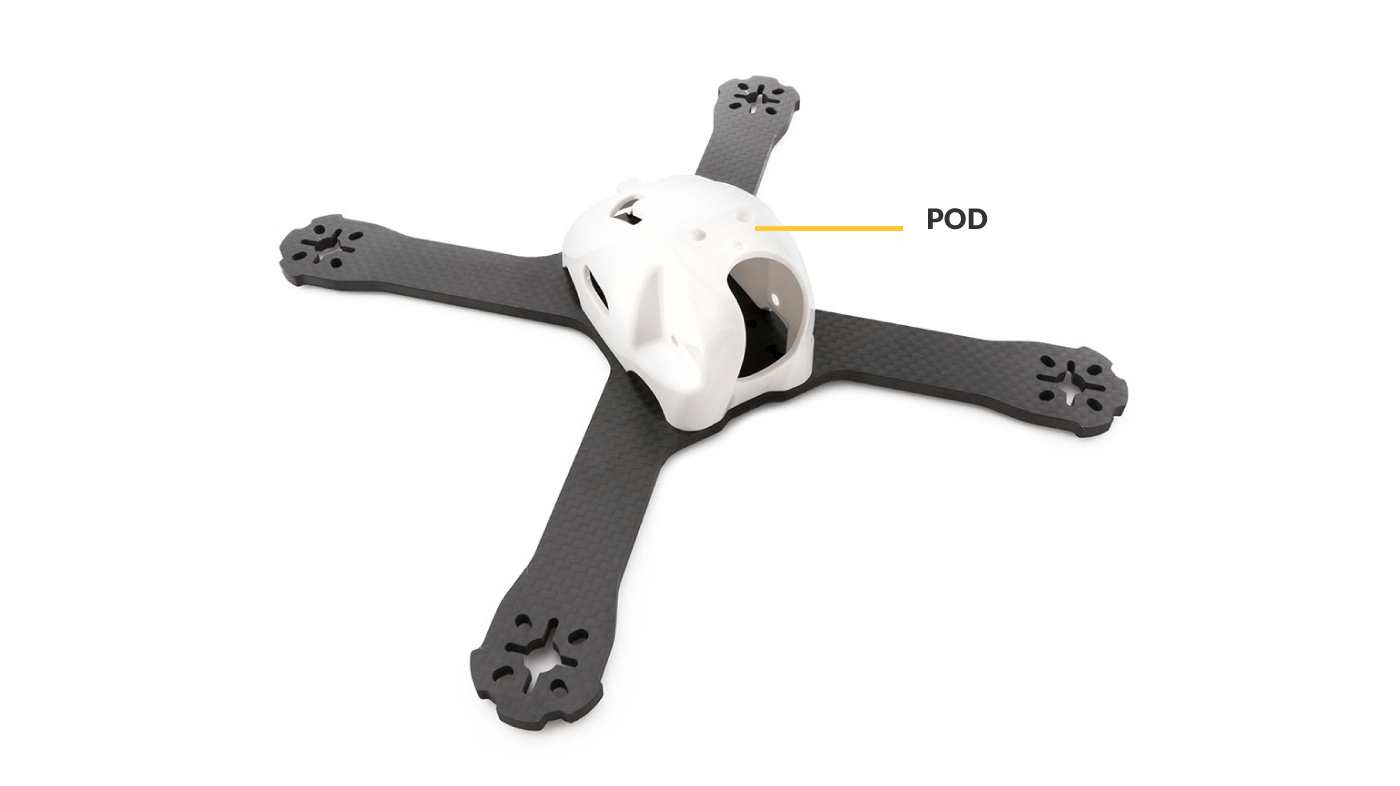 POD on an FPV Racing Frame