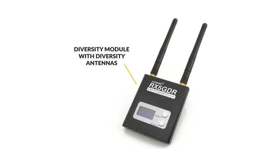 Diversity FPV Video Receiver