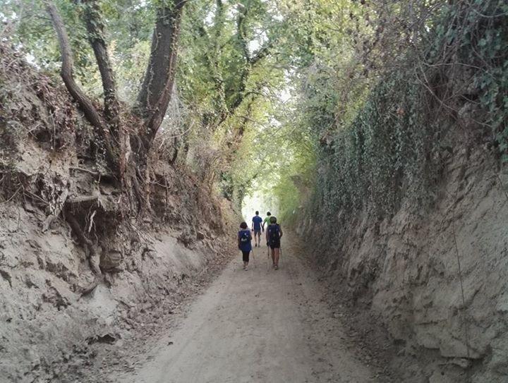 La valle dei Tufi - Madonna delle Grotte - San Costanzo