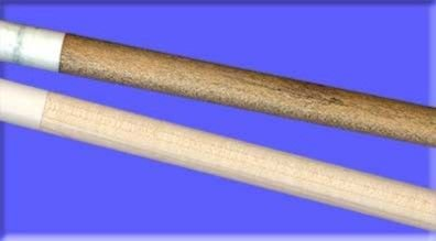 Pool Cue Shaft Before and After