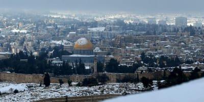אינסטלטור בירושלים - חורף בירושלים