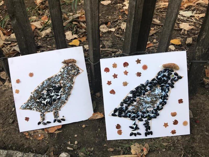 """Творческая мастерская """"Осень и птицы"""". Работа с природным материалом"""