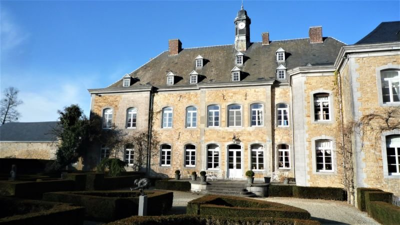 Monumental castle of Doyon, Belgium