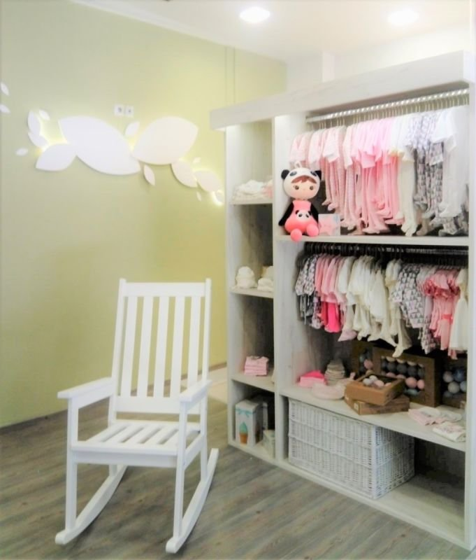 Kids clothing store in Larissa, Greece