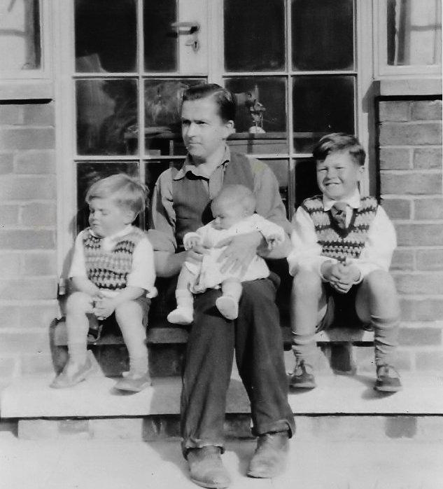 Ken, Dad & brothers