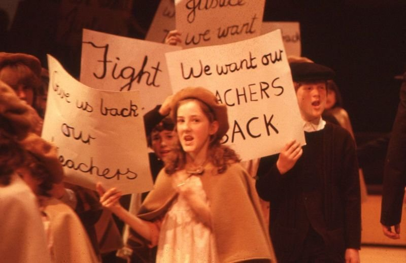 The Burston School Strike play at Stantonbury