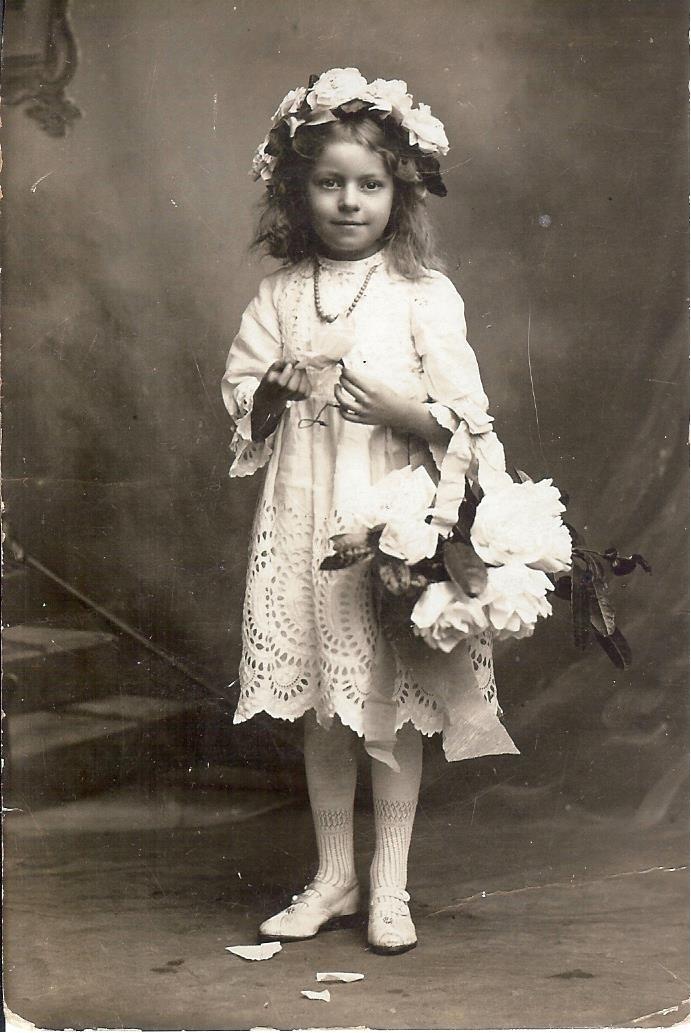 Mum as a girl