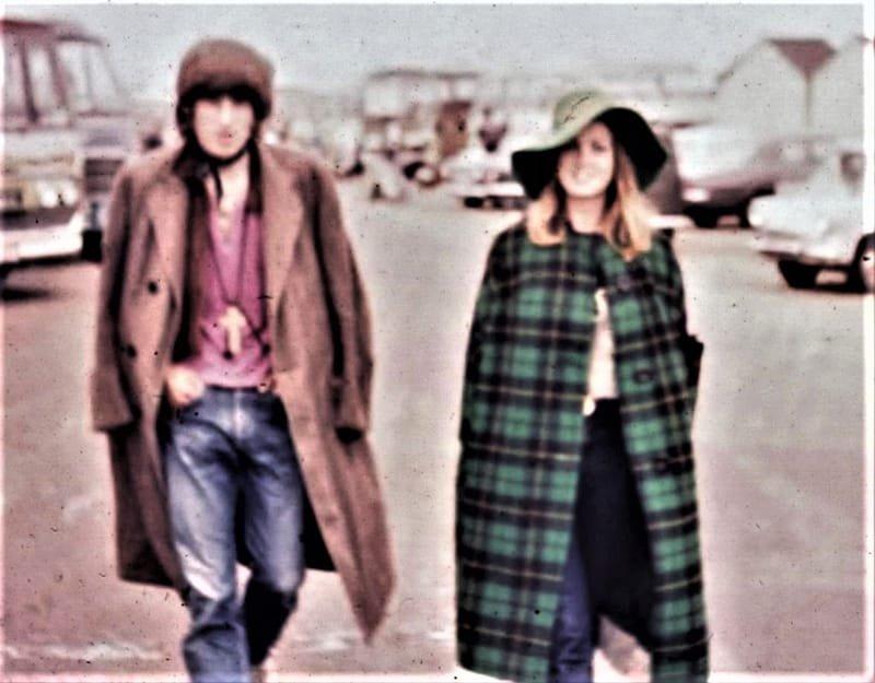 Bob & Jean - Bob Dylan IOW Festival