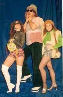 Me Big George Webley and Alex Kent -  publicity shots for a MADCAP fundraiser