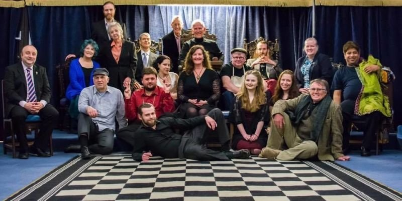 Caz & the Merchant of Venice cast, Stony Stratford Thearte Society 2017