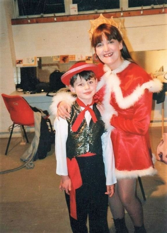 Dick Whittington with my boy - The Wardens , Aberrystwyth 1999-2000