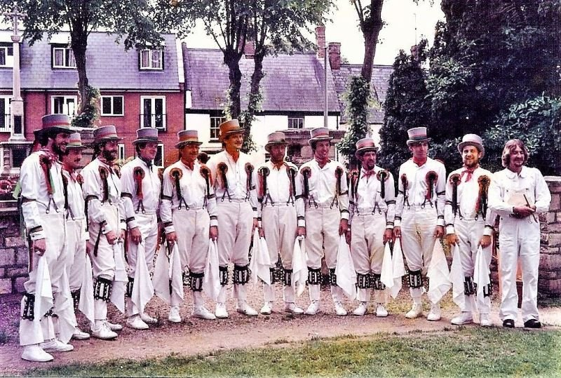 I was a founder member of Stony Stratford Morris