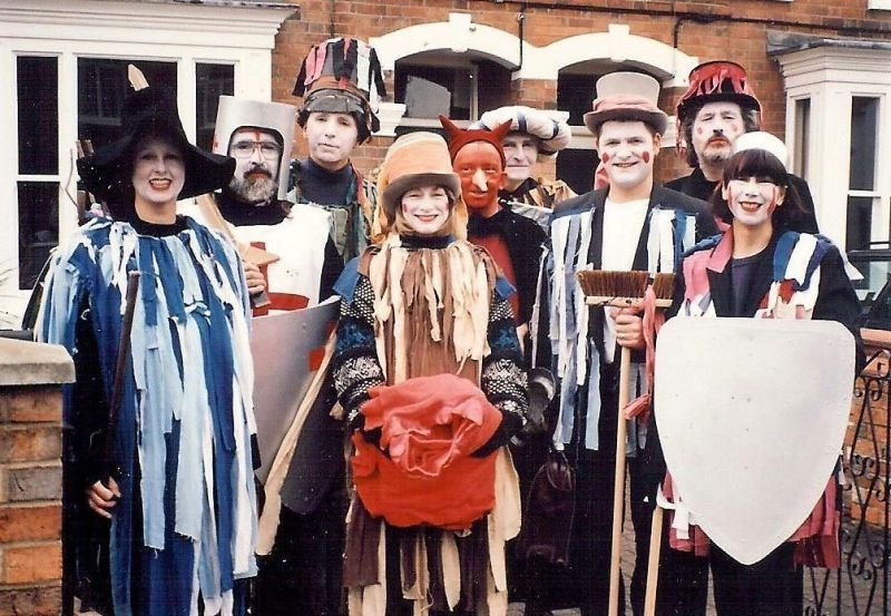 I was a founder member of Stony Stratford Mummers