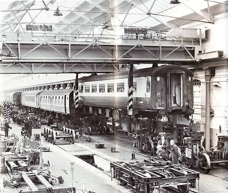 The lifting shop - Wolverton Works