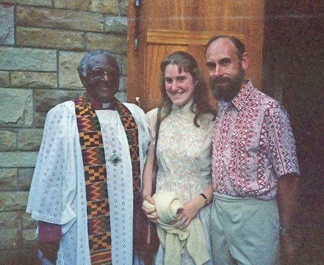 With Archbishop Tutu in 1990