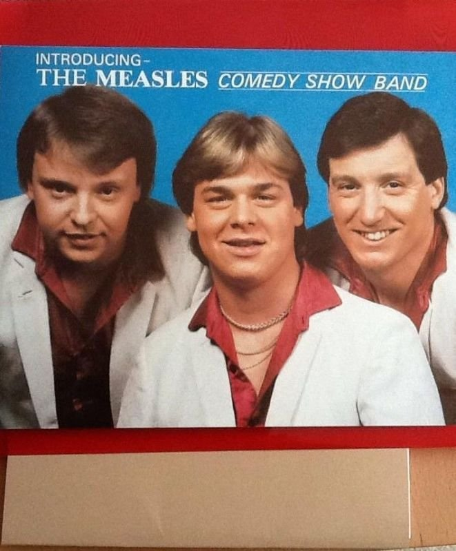 Comedy band Measles