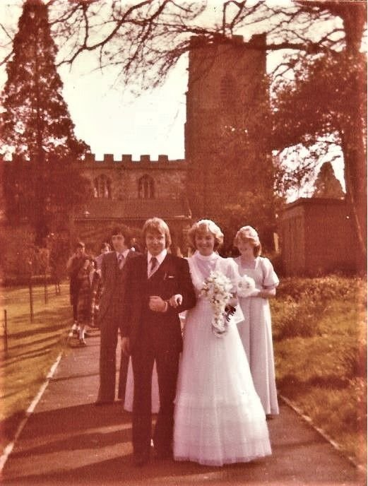 Wedding day - 1980