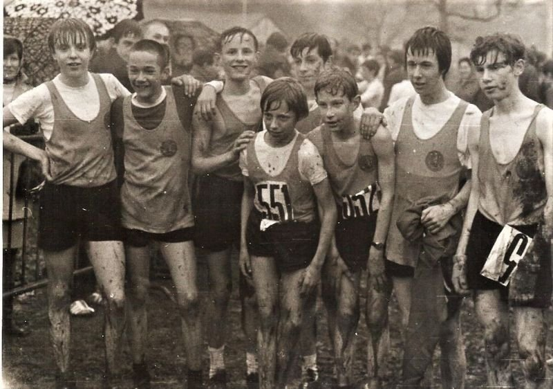 Cross country running champion 1970
