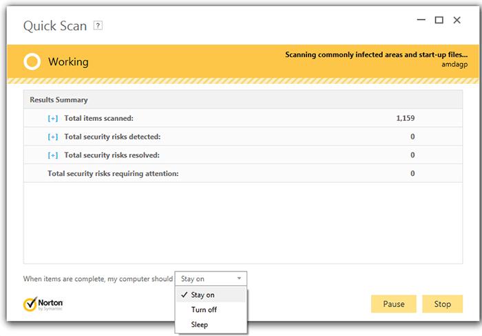 Norton antivirus error 8504