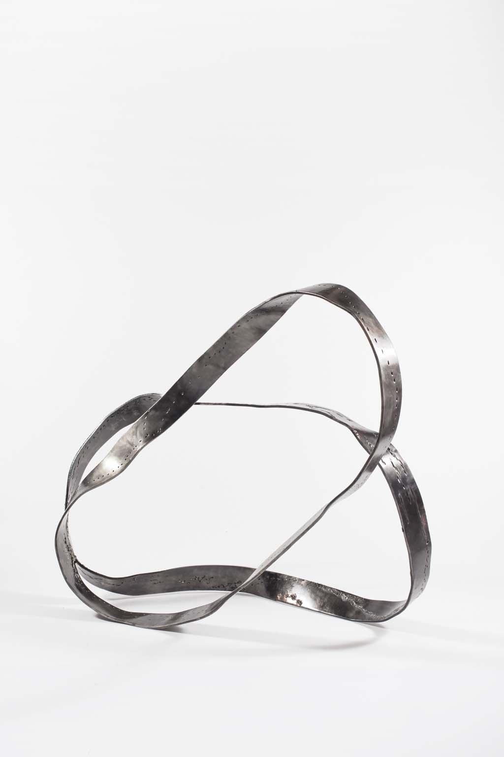 Oblivion I | 2015 I  Iron & brass sculpture | Rami Ater | רמי אטר