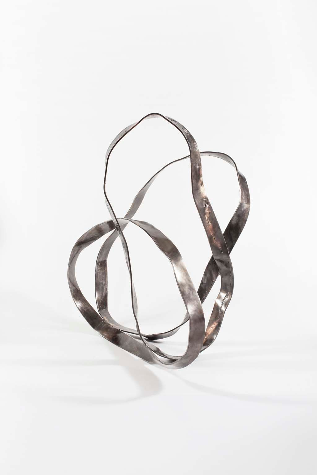 Oblivion II | 2015 I  Iron & brass sculpture | Rami Ater | רמי אטר