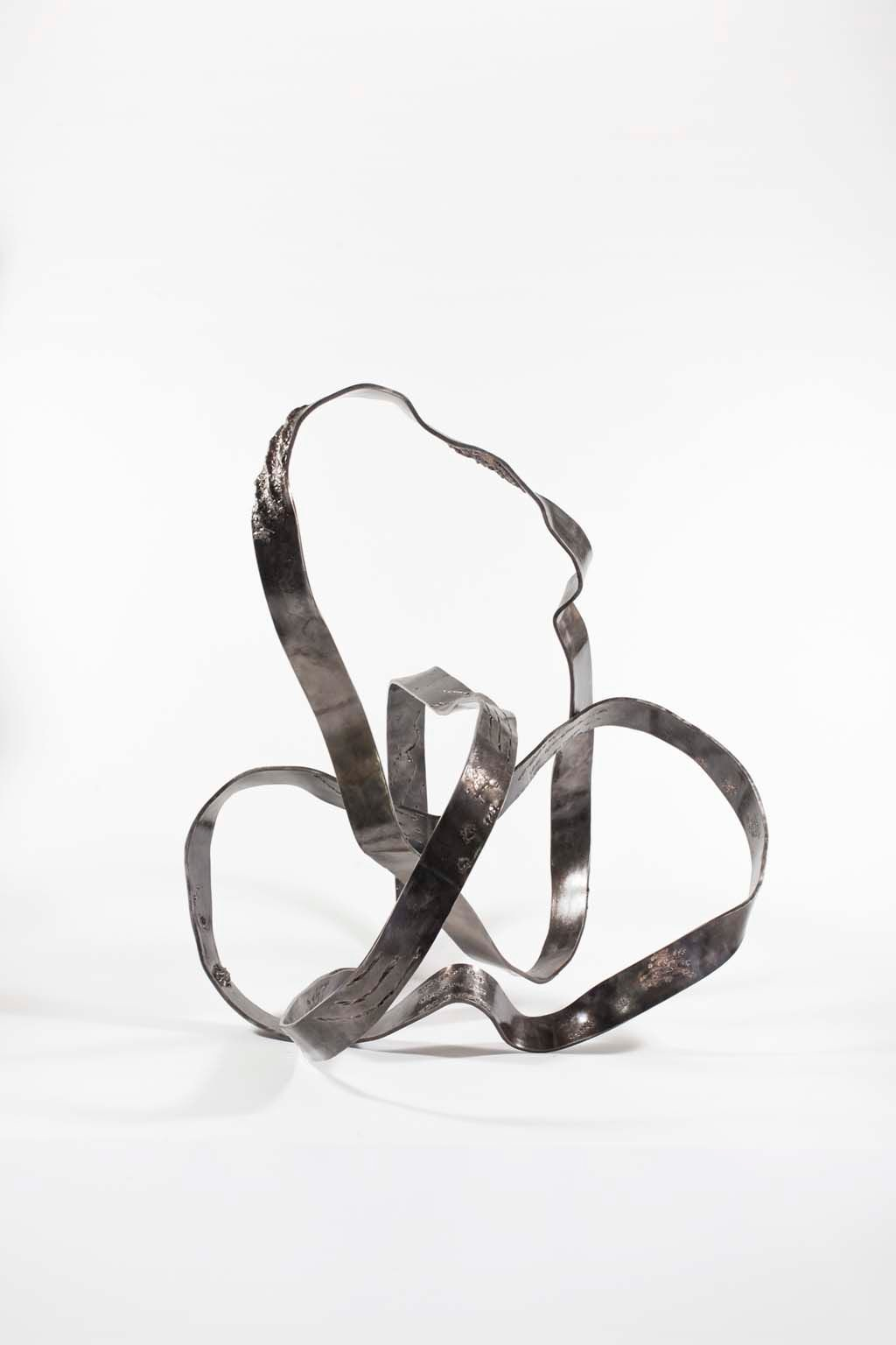 Oblivion III | 2016 |  Iron & brass sculpture | Rami Ater | רמי אטר