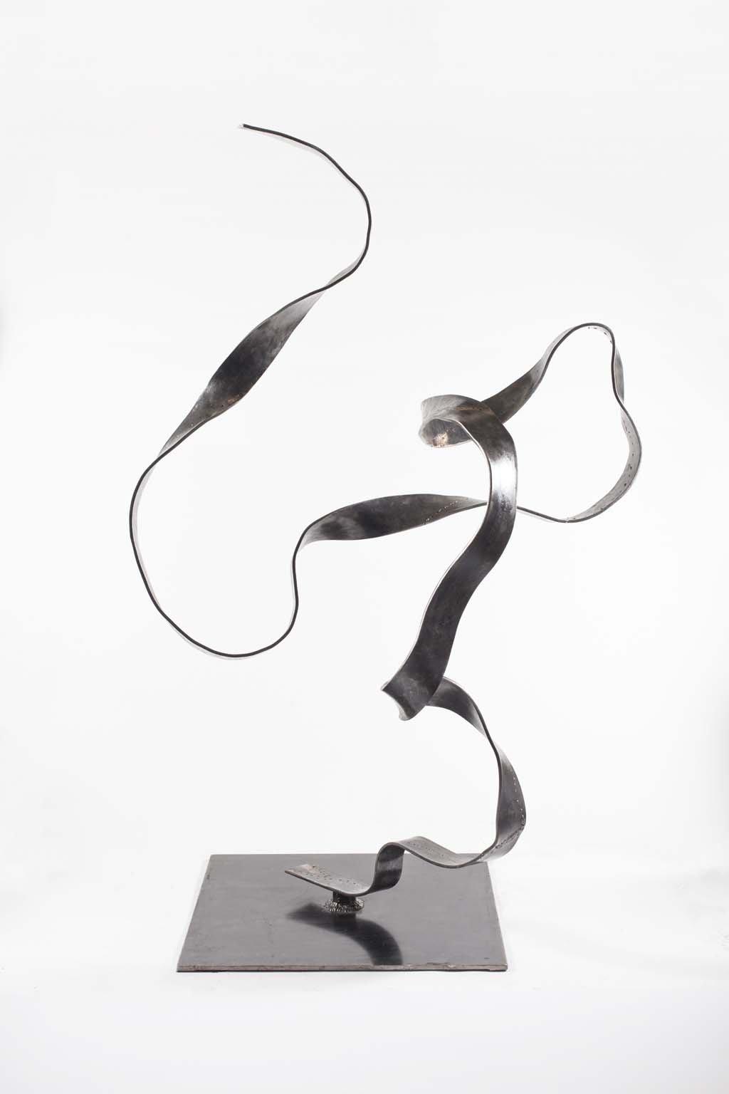 Oblivion VI | 2016 | 160x120x110 cm |  Iron & brass sculpture | Rami Ater | רמי אטר
