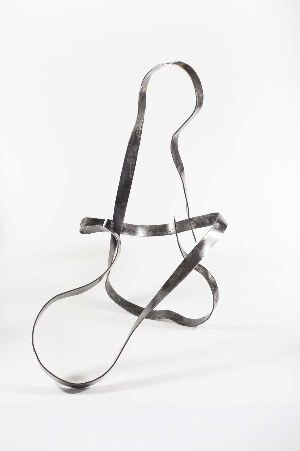 Oblivion VIII | 2017 | 160x160x60 cm |  Iron & brass sculpture | Rami Ater | רמי אטר