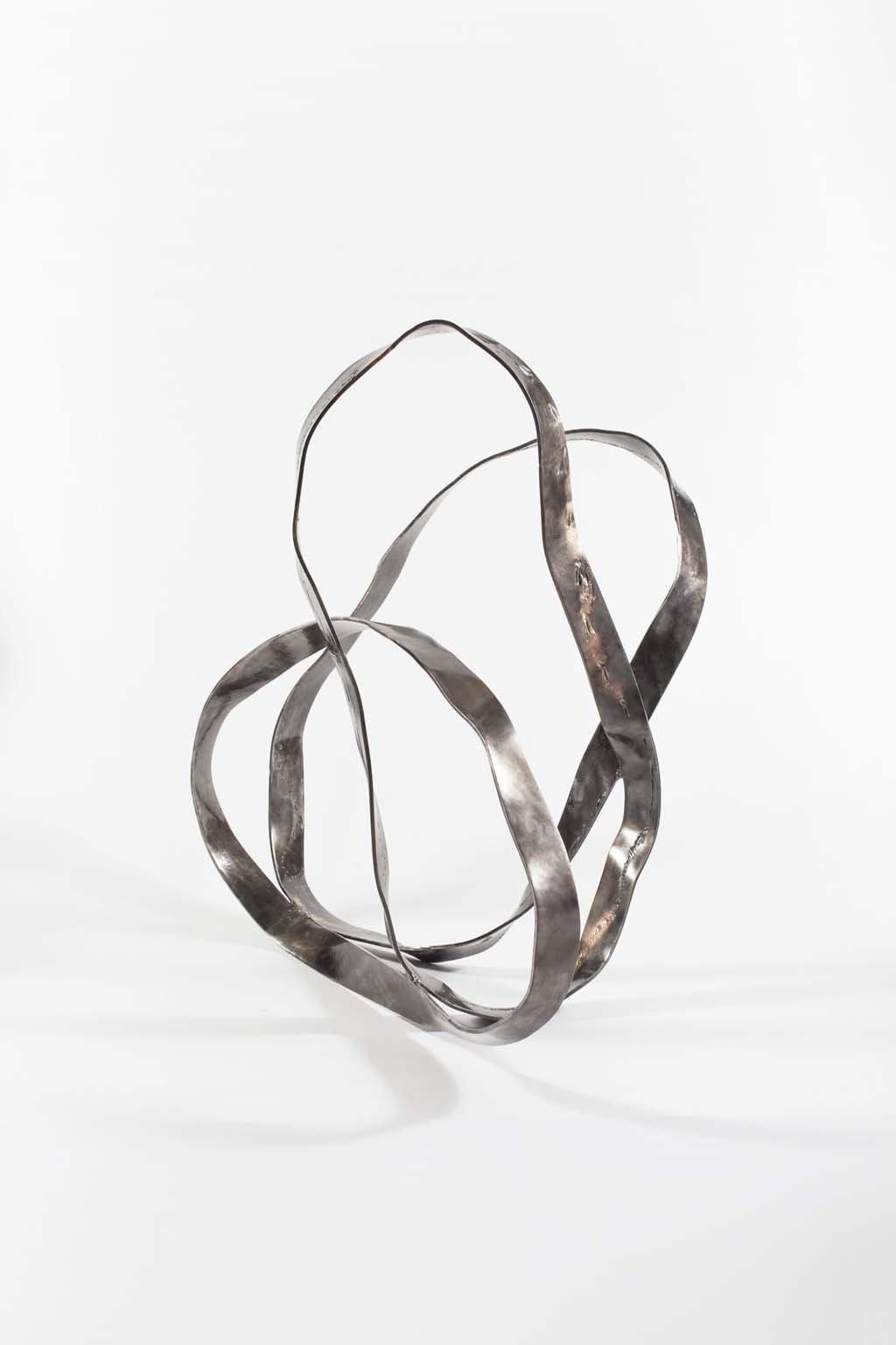 Oblivion II | 2015 | Iron & brass Sculpture| 148x100x100 cm | Rami Ater