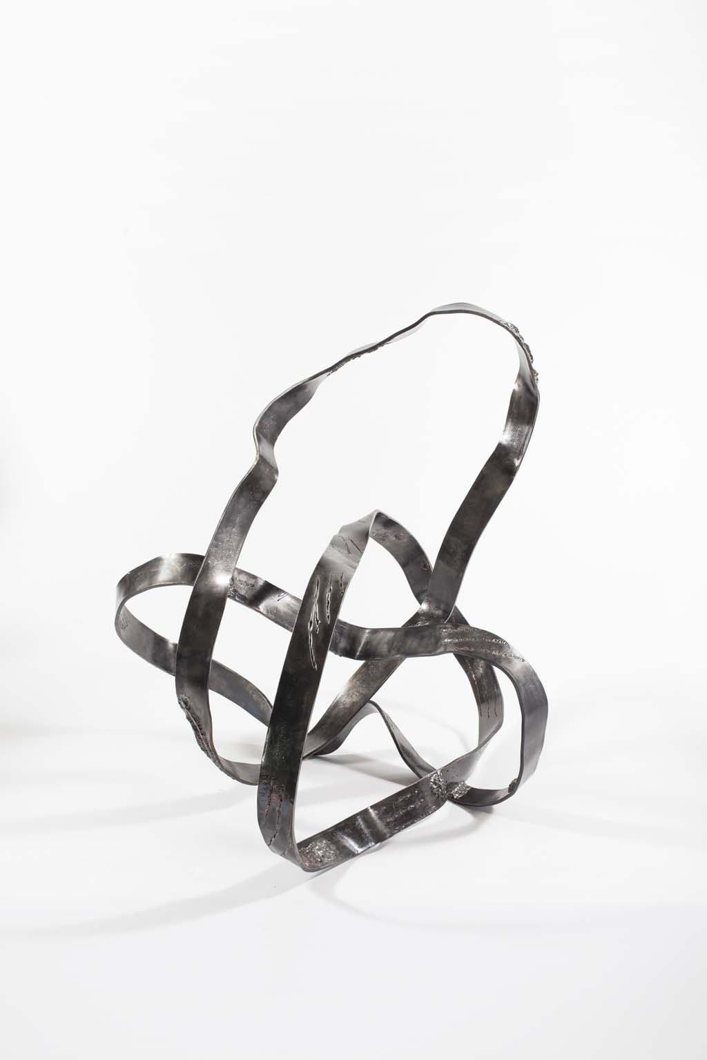 Oblivion III | 2016 | Iron & brass Sculpture| 80x120x70 cm | Rami Ater