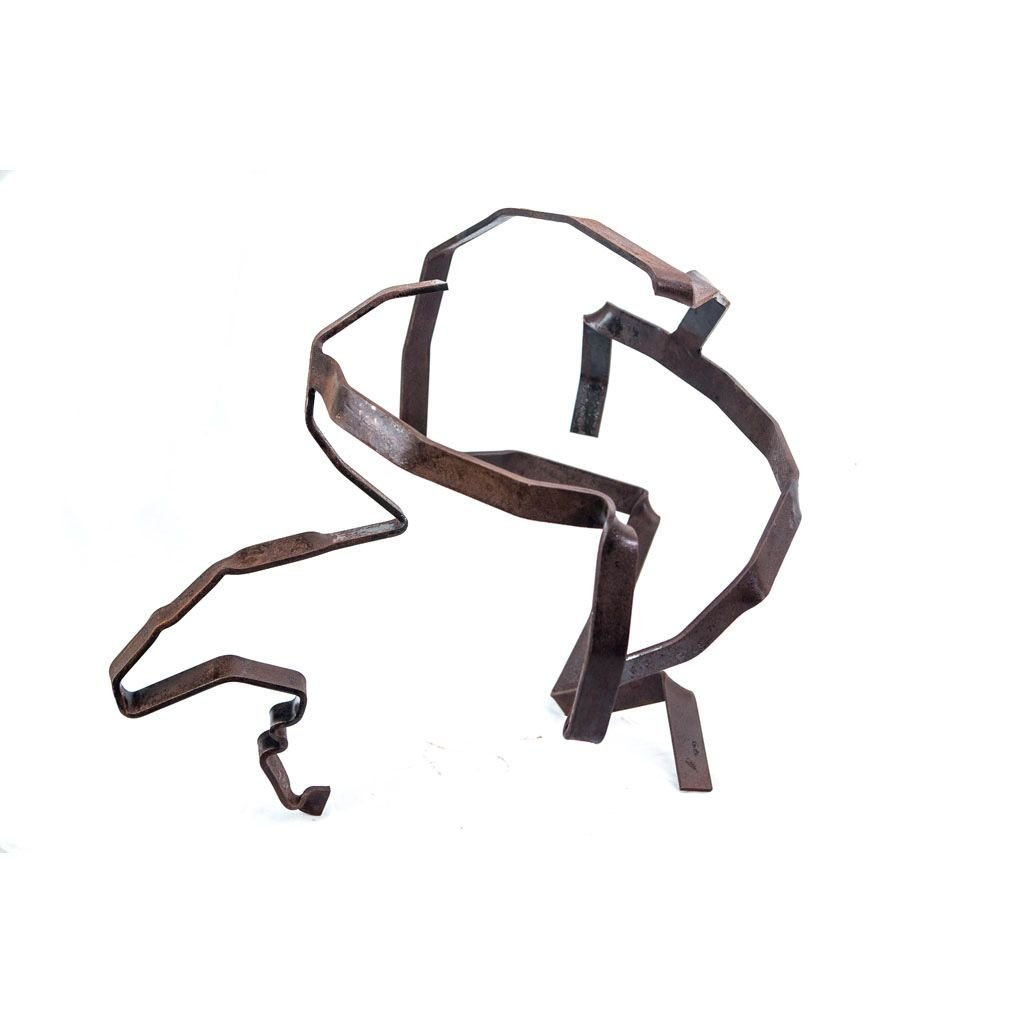 Authentic copy VII   2017   Iron sculpture   48x60x58cm   Rami Ater