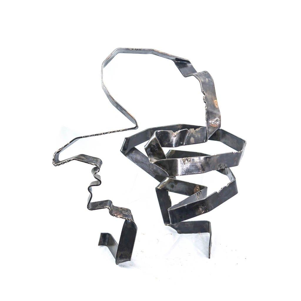 Authentic copy XII   2017   Iron sculpture    Rami Ater