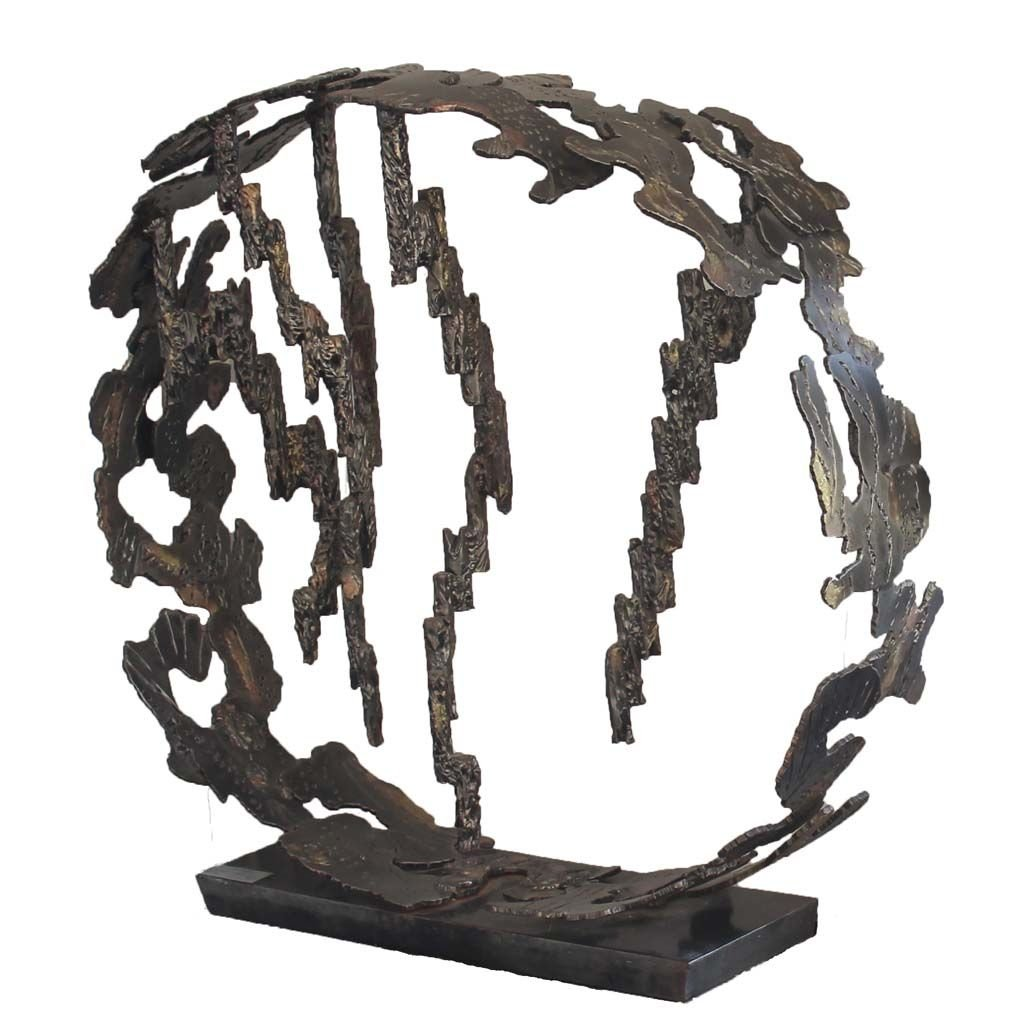 Insights II | 2014 | Iron & brass sculpture | Rami Ater