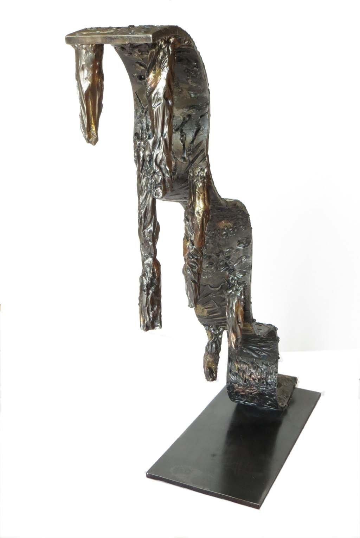 Life II | 2012 | Iron & brass |  95x70x30 cm | Rami Ater