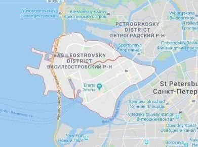 Taxi To Vasilyevsky Island in Saint-Petersburg