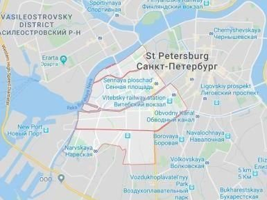 Taxi To Admiralteysky District in Saint-Petersburg