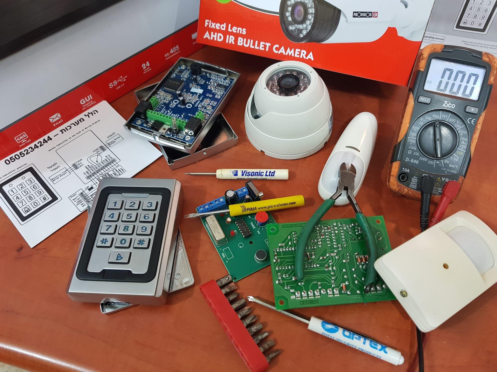 שונות תיקון אזעקה לבית ולעסק - הלל מערכות אזעקה ותקשורת - 0505234244 FL-53