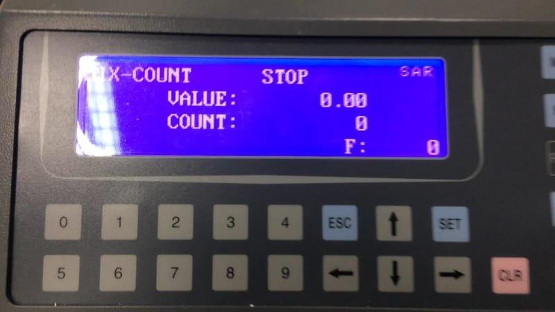 عدادة النقود المعدنية النوع Aman CO-9 ( عد القطع المعدنية )