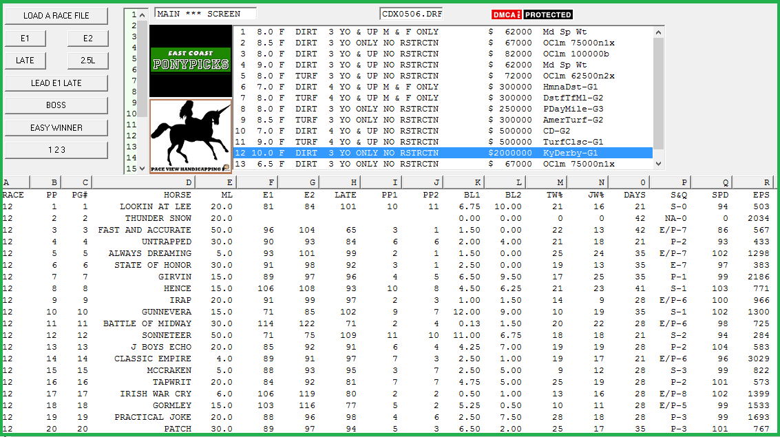 Pace view horse racing softwarespot plays under 3500 publicscrutiny Gallery