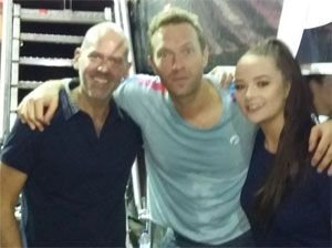 Coldplay with RMVC