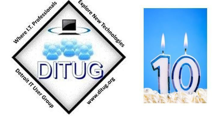 DITUG is 10 Years and Counting