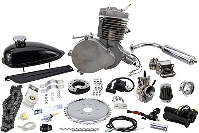 Zeda 80 Triple 40 Complete 80cc Bicycle Engine Kit