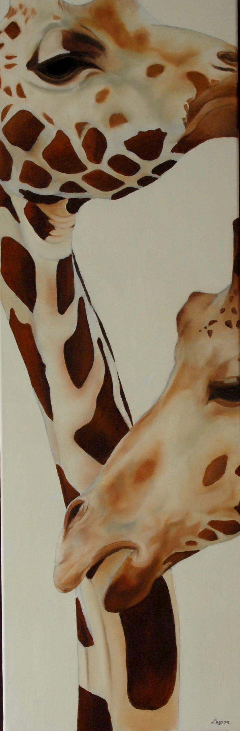 Série Girafes - 1
