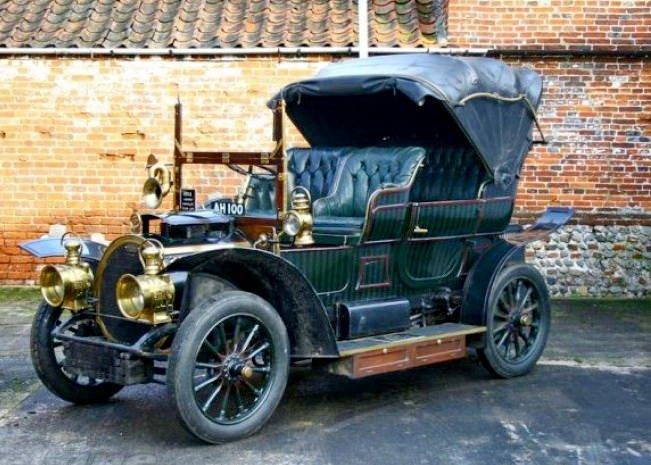 Marta automobil 1909-1912 Arad