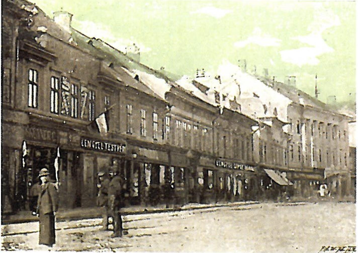 Szabadsag ter Arad 1900