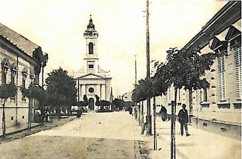 Aradi reformatus templom 1900