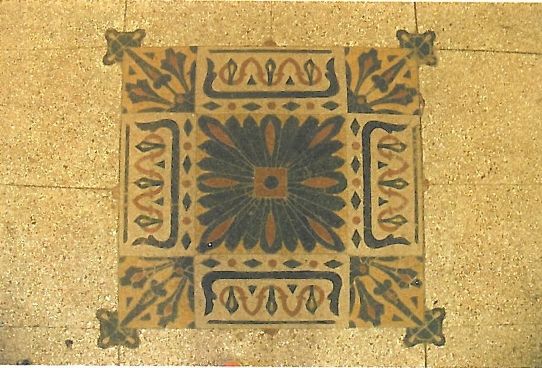 podea Palat cultural Arad
